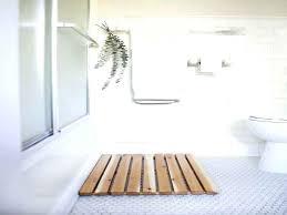 cedar bath mat cactus bathroom rug western red