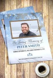 Free Funeral Program Templates By Template Publisher Bi Fold
