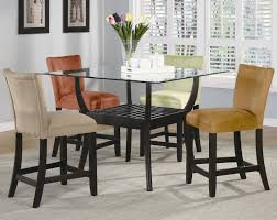 dining table white legs wooden top unique bloomfield 5 piece counter height dining set by coaster