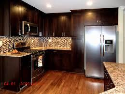 Kitchen Colors Dark Cabinets Kitchen Color Ideas With Dark Oak Cabinets