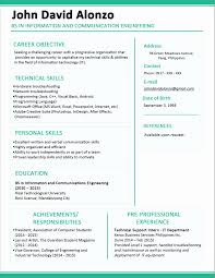 11 Awesome Hr Resume Format For Freshers Pics Professional