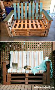 diy outdoor pallet furniture. How To Make An Outdoor Pallet Couch Or Sofa - DIY Furniture Diy
