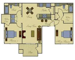 Dual Master Suite House Plans   VAlineHouse Plans   Apartment Attached