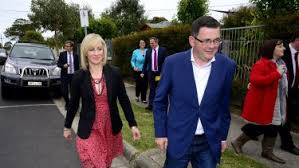 Daniel andrews arrives for question time with fellow labor mps in tow. Police Disciplined For Failure To Breath Test Premier S Wife After 2013 Car Crash