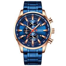 <b>CURREN</b> 8351 Men's Six-pin Water-resistant Multifunctional Quartz ...