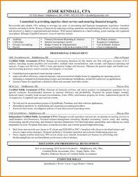 Resumemples Public Accounting New Finance Cfo Template