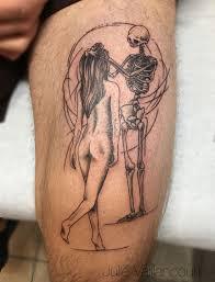 Tattoo Made By Julie Vaillancourt At Pink Tattoo Shop тату