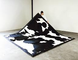 seven hills black and white cowhide rug berkshire one of a king sevenhills