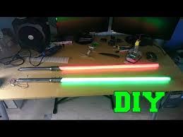 diy lightsaber with led you