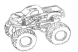 Hot Wheels Monster Truck Colouring Pages Free Monster Truck Coloring