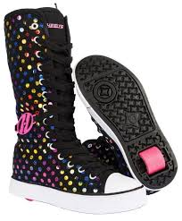 Details About Heelys Fling 2 0 Junior Size Girls Lace Heely