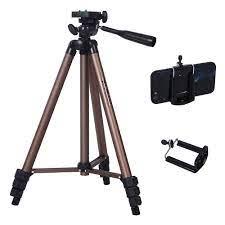 Profesyonel kamera Tripod standı Canon Nikon Sony DSLR kamera kamera Mini  taşınabilir Tripod için telefon kamera|Live Tripods