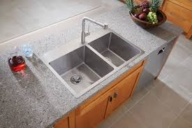 Minimalist Kitchen Beautiful Drop In Stainless Steel Sinks Sink At