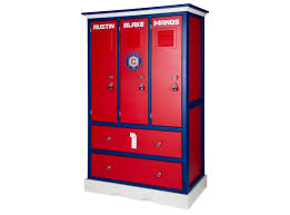 Locker Style Bedroom Furniture Childerns Locker Style Dresser Sports Themed Furniture Soccer