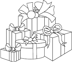 Small Picture Presents And Gifts Coloring Pages Part 4