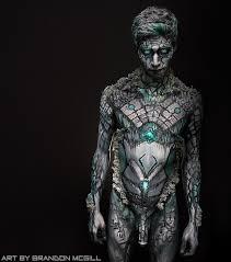 Resultado de imagen de art by brandon mcgill | Body art, Male body ...
