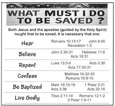 Plan Of Salvation Chart With Scriptures Church Of Christ Plan Of Salvation Chart Plan Of Salvation