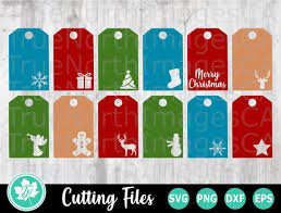 From gingerbread to christmas gifts; Christmas Gift Tags Svg Christmas Svg By Christmas Store On Zibbet