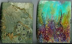 The texture of this book is absolutely beautiful. The colours are  reminiscent of the sea and sand. The additions to the … | Fabric book  covers, Fabric art, Felt art