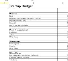Budget Plan Excel Monthly Spending Plan Template