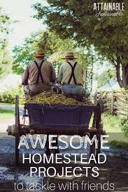 homestead living means lots of diy projects those are always more fun to tackle with
