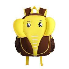 Nohoo Neoprene <b>Elephant Backpack</b>, Brown/Yellow | <b>Little</b> ...