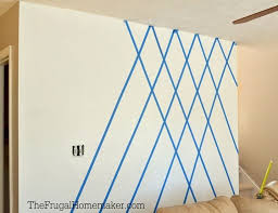 Wall Designs With Tape - Home Design Interior