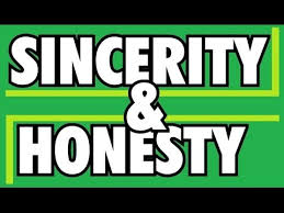 Image result for What's the difference between honest and sincere?