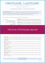 Ats Friendly Resume Template Free Inspirational Sample Resume For A