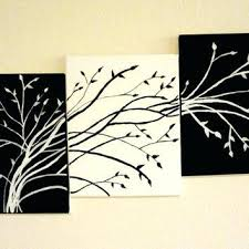 black and white tree wall art contemporary triptych tree art black and white trees tree of black and white tree wall art  on wall art black and white trees with black and white tree wall art black and white wall art canvas