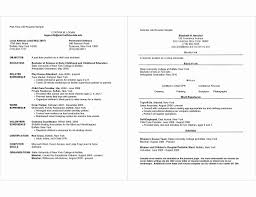How To Format A Two Page Resume Gulijobs Com