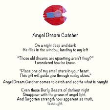 Dream Catcher Poem Cool Angel Dream Catcher You've Been Angeled