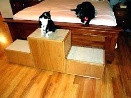 wooden dog steps for bed pet stairs folding bath older person dogs lightweight wooden dog steps for bed