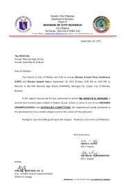 Application Letter For Secondary Teachers In The Philippines