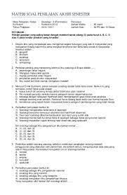 Soal Pas Sosiologi Kelas 10 Peminatan Kunci Jawaban K 13 2016
