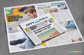 Full Page Newspaper Ad Template 11 Hd Mockups For Newspaper Advertising Design Presentations