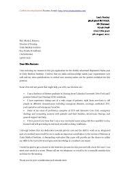 Nursing Cover Letter Sample Sample Certificate Of Employment For