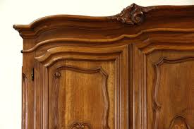 vintage antique furniture wardrobe walnut armoire. Antique Furniture Armoire Sold Vintage 5 Door Carved Walnut Wardrobe Or H