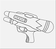 Coloring Rifle Coloring Pages 36 Fortnite Weapons Scar Rifle