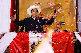 Remember, this is not in the americas, but the world. Peru S Pedro Castillo Closes In On Victory In Presidential Election
