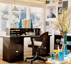 free home office. Free Remarkable Home Office Decor With Wooden Desk And Swivel Flowers Hanging Lamp A