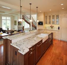 White Spring Granite Kitchen River White Granite Homes Design Inspiration