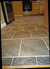Kitchen Flooring Travertine Tile Ceramic Tile Kitchen Floor Fabric Look  Arabesque Black Textured Brick