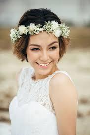 結婚式の前撮りに厳選花嫁さまの髪型ミディアムロングボブ
