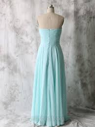 <b>Elegant</b> Sweetheart Chiffon Ruffles Floor-length <b>Light Sky Blue</b> ...