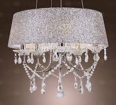 chrome crystal chandelier maison 16 3 4 wide chrome crystal pendant light
