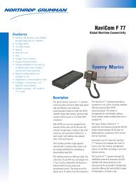 products sperry marine pdf catalogues documentation products 1 45 pages