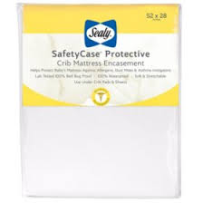 Sealy <b>SafetyCase Protective</b> Infant/Toddler Crib Mattress ...