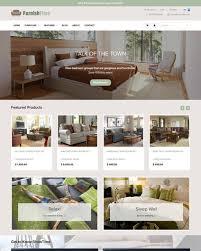 Furniture Interior Design Ecommerce Website Templates Free And Magnificent Furniture Website Design