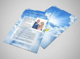Flyer Samples Templates Classy Funeral Memorial Flyer Template MyCreativeShop